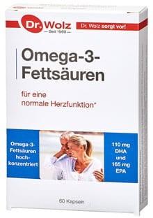 Omega-3-Fettsäuren Dr. Wolz