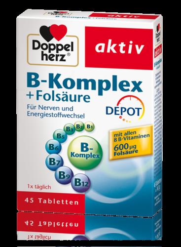Doppelherz B-Komplex DEPOT 45 Tabletten