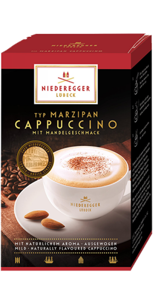 Typ Marzipan Cappuccino, 10 Stick-Portionbeutel